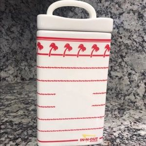 In-n-Out large canister/cookie jar